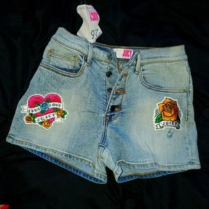 Juicy couture booty shorts